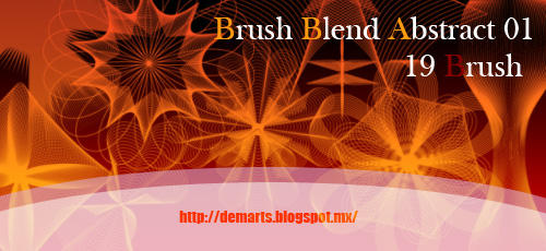 Blend Abstract Brushes