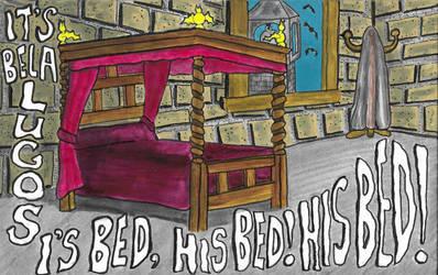 Bela Lugosi's Bed