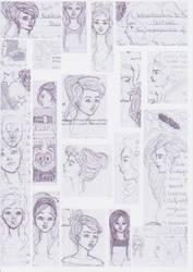 Autumn Semester doodles 2 by sabzlovingart127