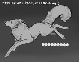 Free canine base