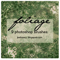 foliage brushes by creepydolly