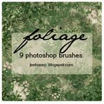 foliage brushes