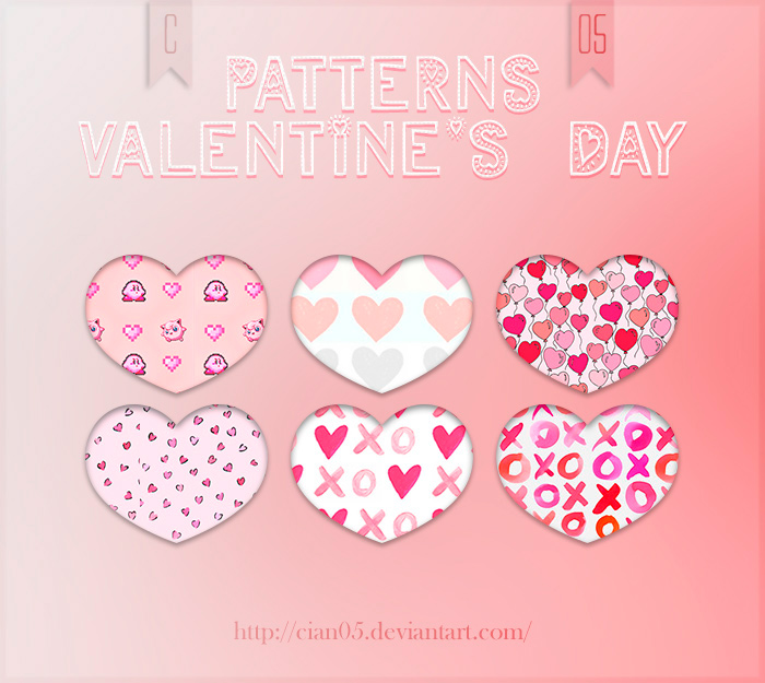 Pattern Valentine's Day [Cian05] by Cian05