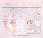 PNG - Pixel pink