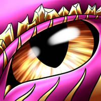 Dragon eye  -animated-