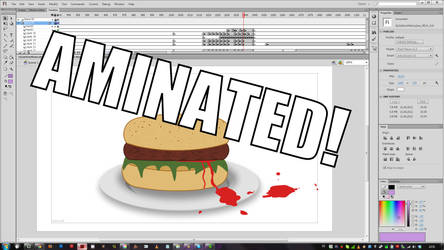 amini: BURGER MEETS PLATE by sqeezy