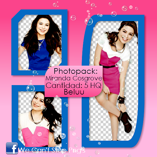 Photopack Png Miranda Cosgrove #2 by BeluuBieberEditions