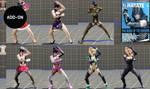 [Addon] Lady Hayate (ladies with Hayate moves) by PerfectDark023