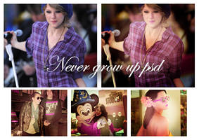 never grow up psd. by closinginside