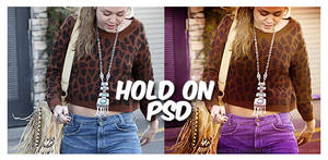 hold on psd coloring.