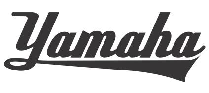 yamaha cursive by burpking
