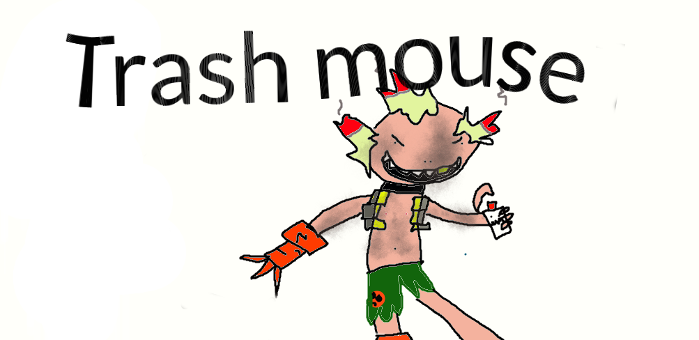 Trash Mouse by oh6god6why6