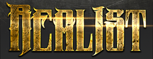 Sctarched Metal Text Effect by M0N0ART