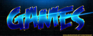 Games Title Text Effect