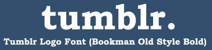 tumblr logo font download by tumblrfollow
