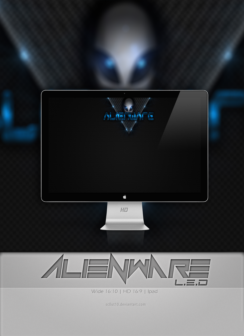 Alienware Extreme Theme Wallpapers by Sc0uT10
