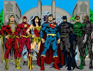Justice League Flats