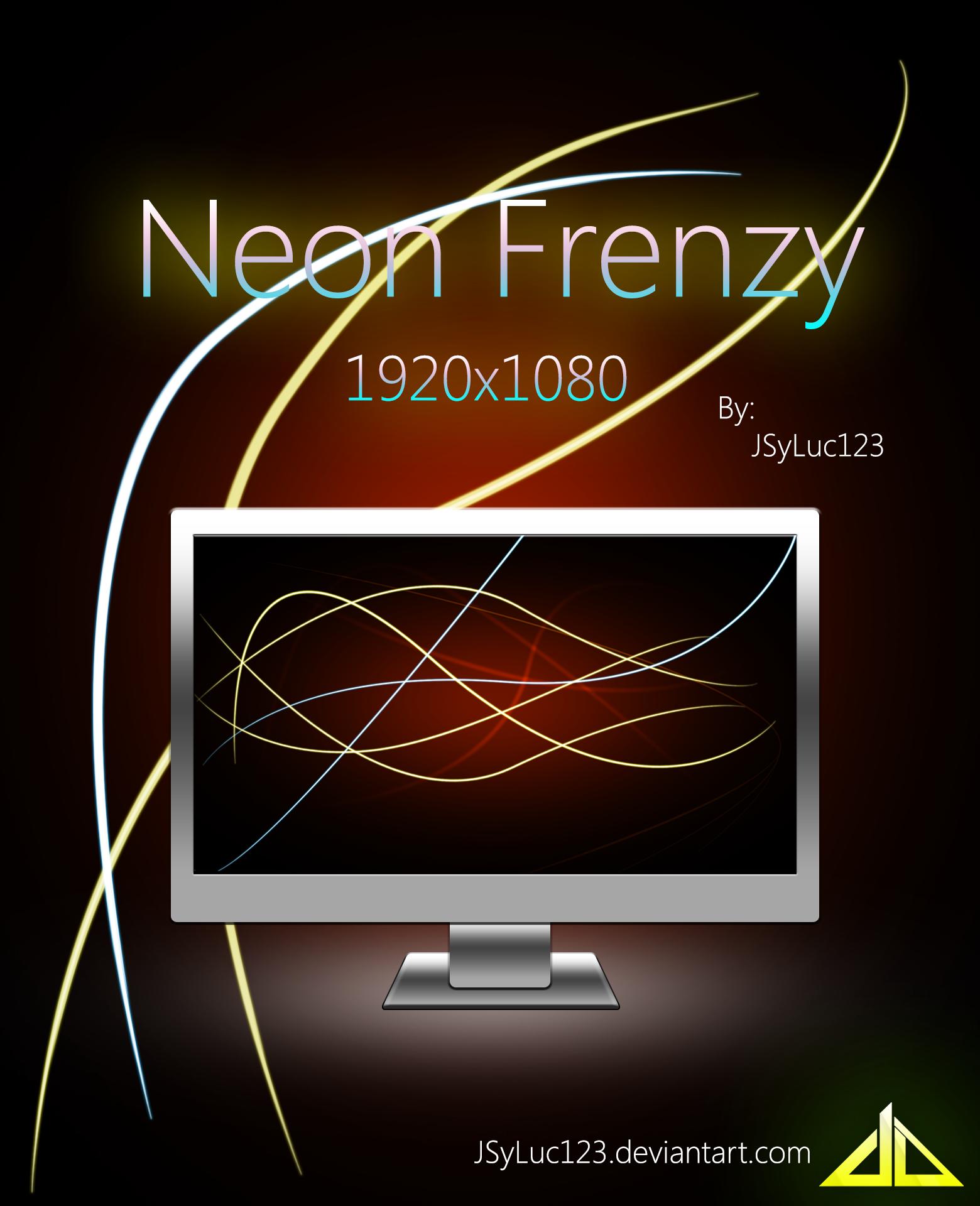 Neon Frenzy by JSyLuc123
