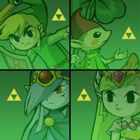 Zelda Avatars V.2 by lainsnavi