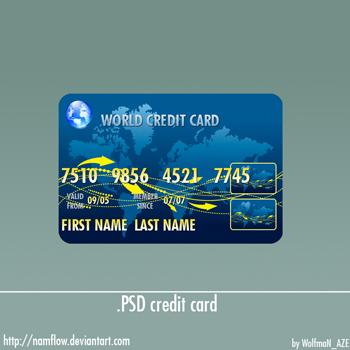 .PSD credit card