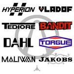 BL2 Weapon Manufacturer Logos - Vector Template