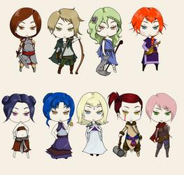 DnD Character Class by U-Li