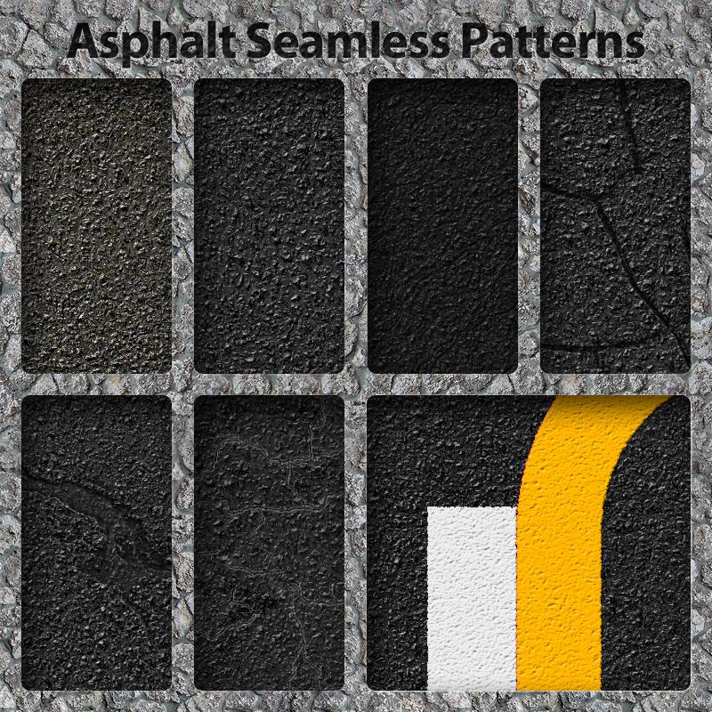 Asphalt and Lines Patterns