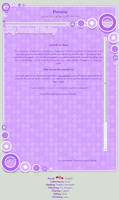 Purple Circle Css Journal Skin by WillowXD