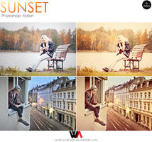 Sunset Photoshop Action by Welton-Arruda