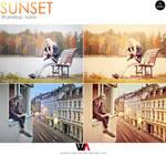 Sunset Photoshop Action