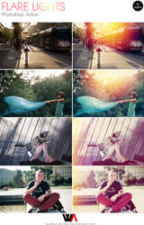Flare Lights Photoshop Actions by Welton-Arruda