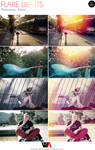 Flare Lights Photoshop Actions