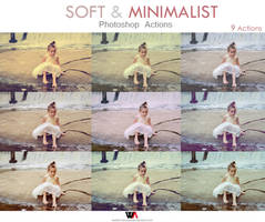 Soft/Minimalist Photoshop Actions by Welton-Arruda