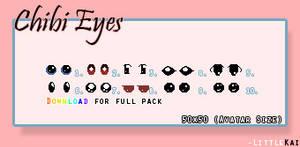 Free Chibi Eyes Collection