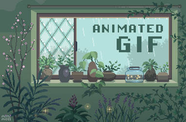 Botanist's Window by minimoss