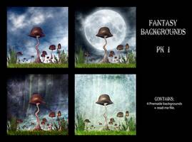 Fantasy Premade BGs pack 1