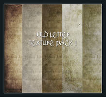 Old Letter Pack 1 by Inadesign-Stock
