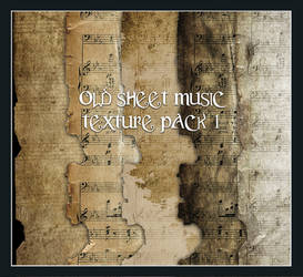 Old Sheet Music Pack 1