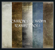 Scratched and Worn Pack1 by Inadesign-Stock
