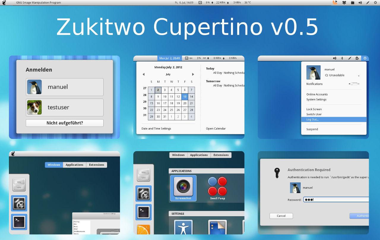 Zukitwo Cupertino by mlaggner on DeviantArt