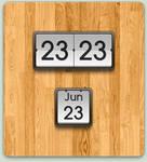 MIUI Clock + Calendar Widgets by GU5TAF