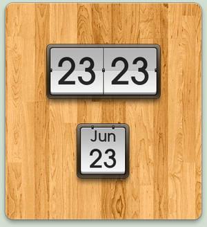 MIUI Clock + Calendar Widgets