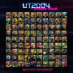 Miasma UT2004 Avatar Pack by Rajliv