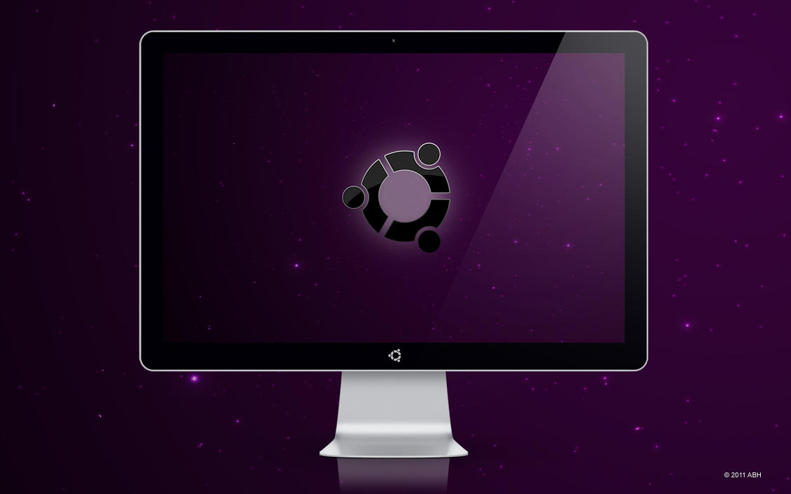 Snow Ubuntu Wallpaper by abh83