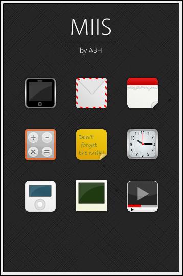 MIIS iPhone Icons