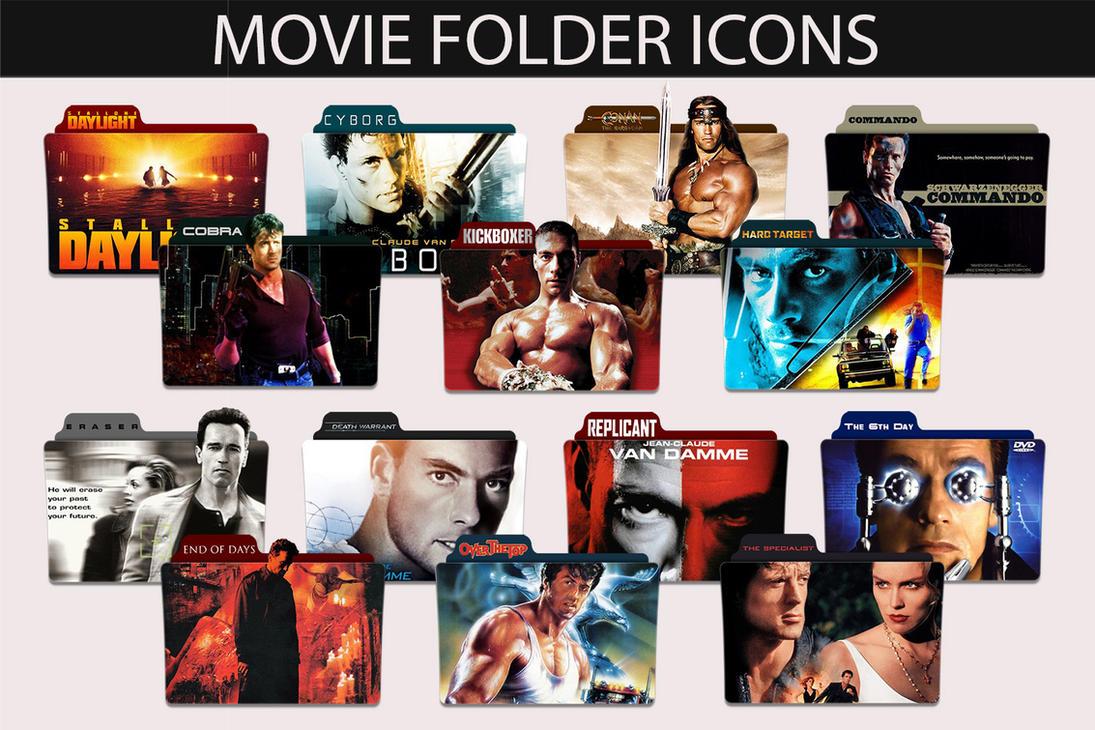80s 90s movie folder icon pack by sonerbyzt on deviantart