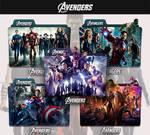 The Avengers 2012 - 2019 Folder Icon by sonerbyzt