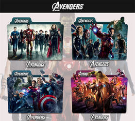 The Avengers 2012 - 2018 Folder Icon by sonerbyzt