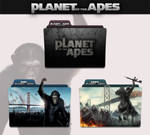 Planet of the Apes 2011 - 2014 Folder Icon