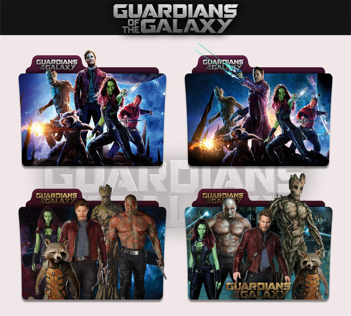 Guardians Of The Galaxy 2014 Folder Icon By Sonerbyzt On Deviantart